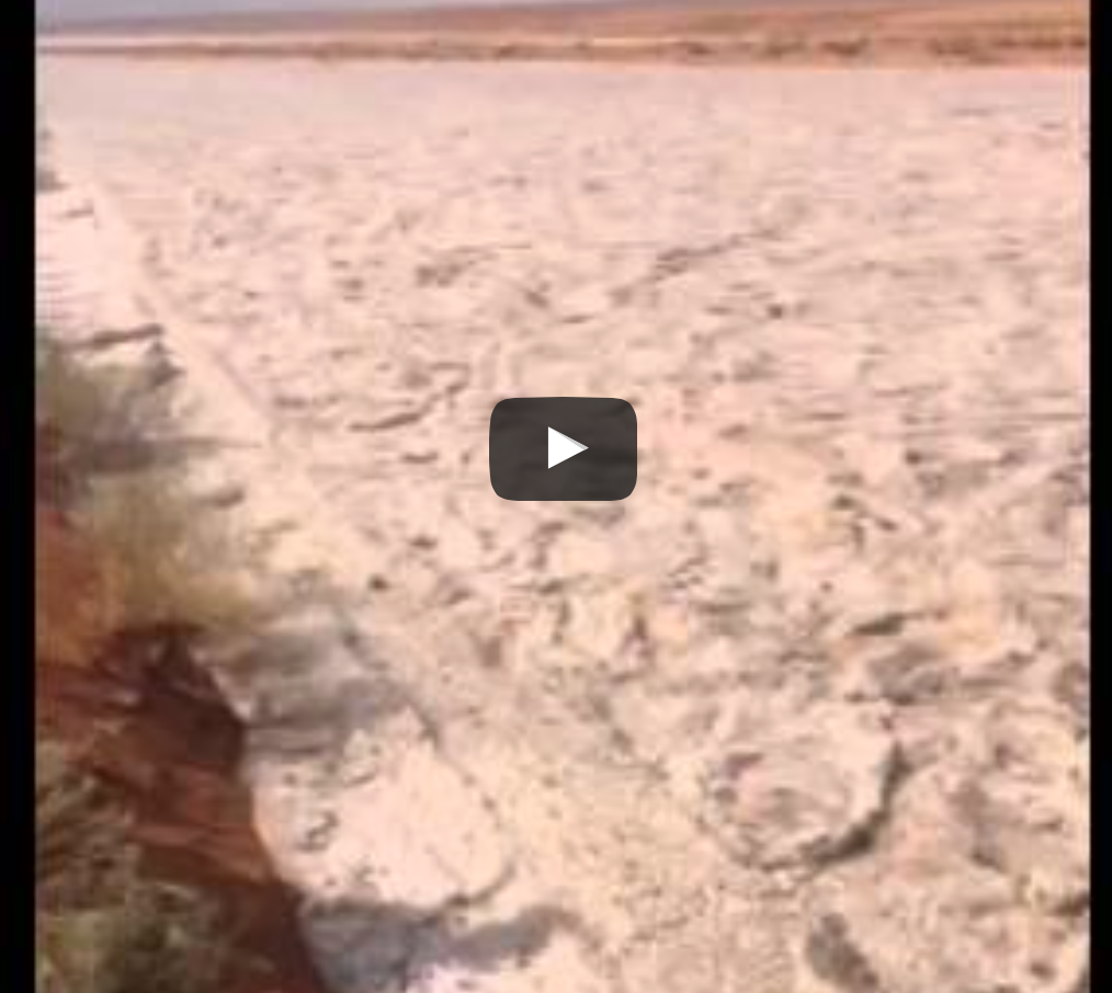 VIDEO: What? Yeah, A River Of Sand Flows Through IRAQ!
