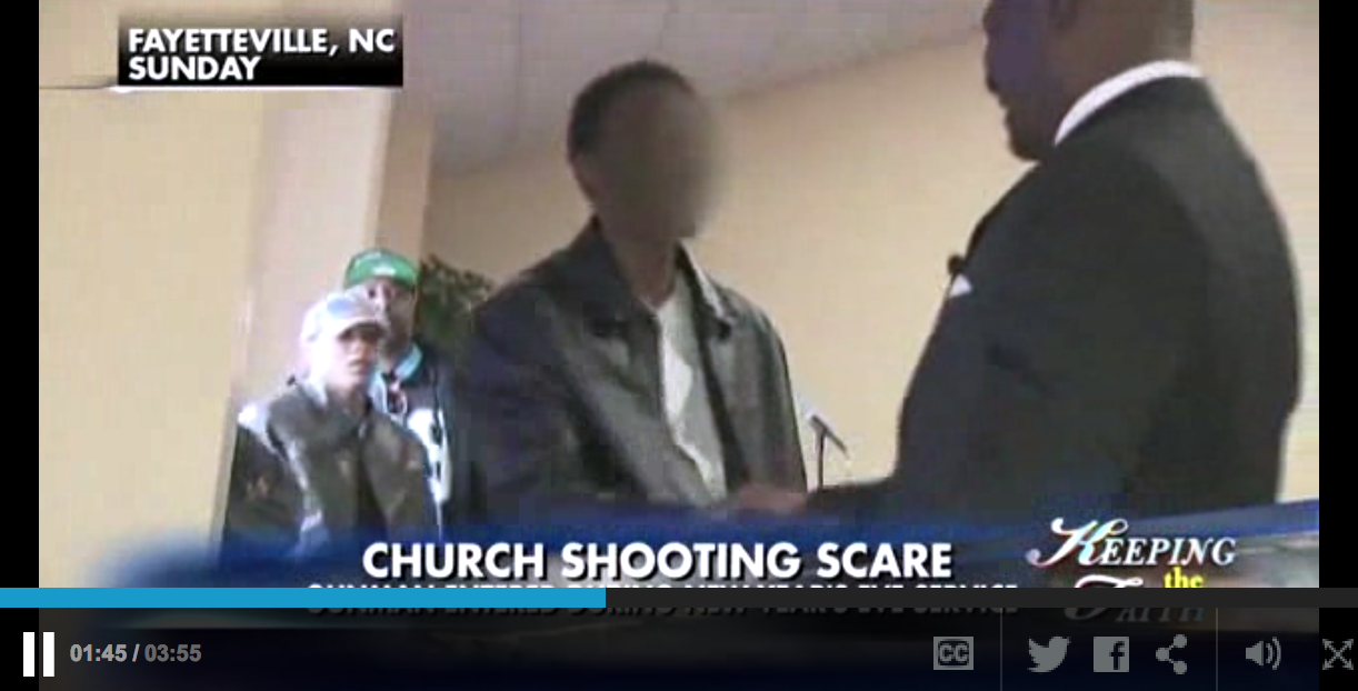 Thug With A Gun Walks Into A Church On New Years Eve And Then . . . You Won't Believe This!