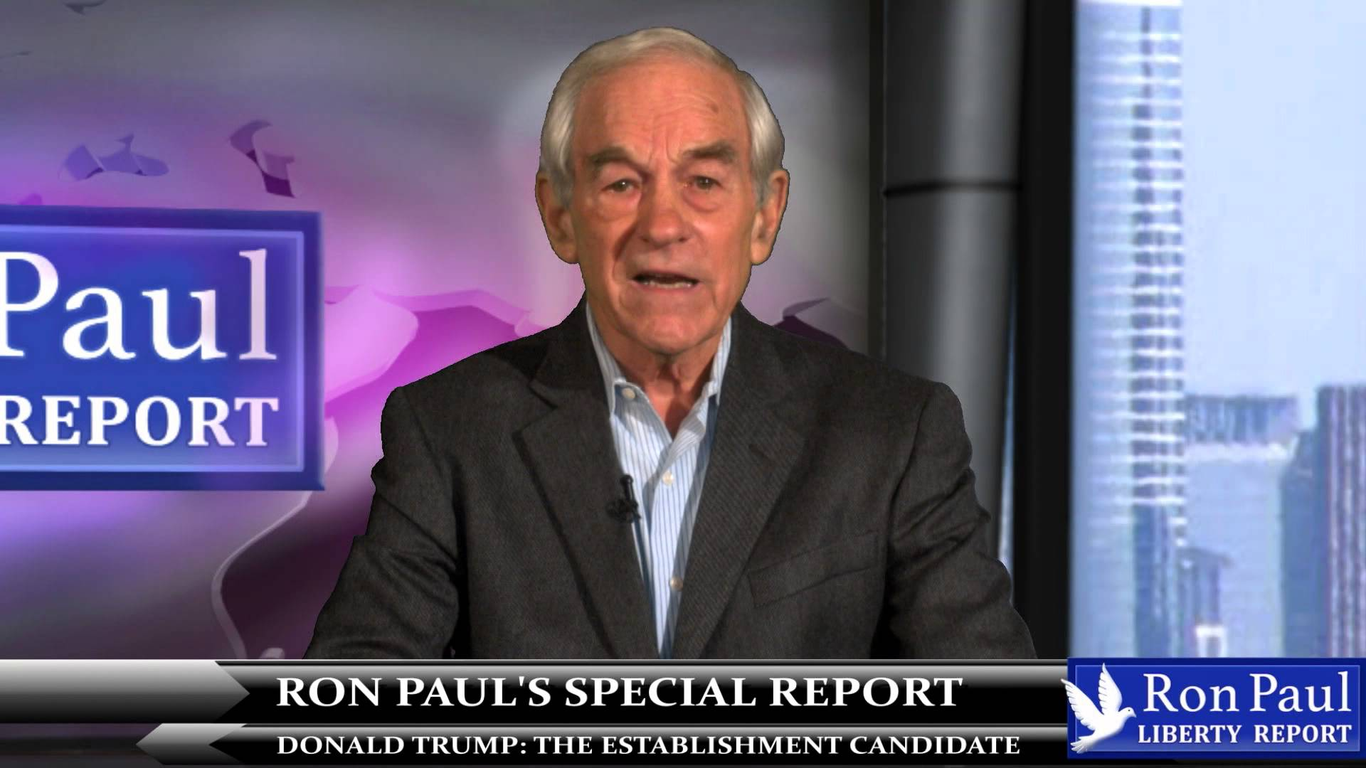 """VIDEO: Why Did Ron Paul Call The Donald """"The Wizard Of OOOOZ!"""""""