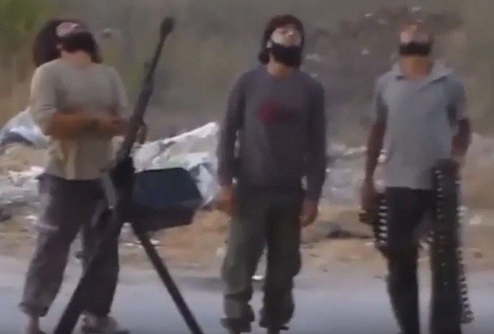 GRAPHIC VIDEO: Islamic Extremists Get Blown To Allah For Firing At Jets