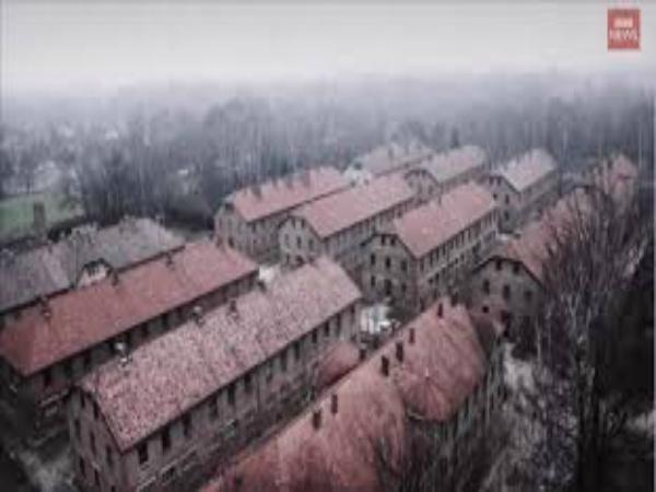 Drone Flies Over Auschwitz; What It Captured Is Haunting!