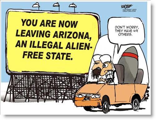 Arizona Passes Tough New Law on Illegal Aliens