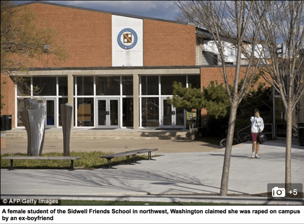 Horrific Rape Allegations Reported At Obama's Daughters School