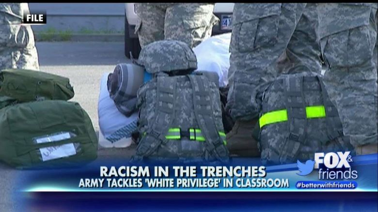 U.S. Government Indoctrination: U.S. Soldiers Taught About the Dangers of 'White Privilege'