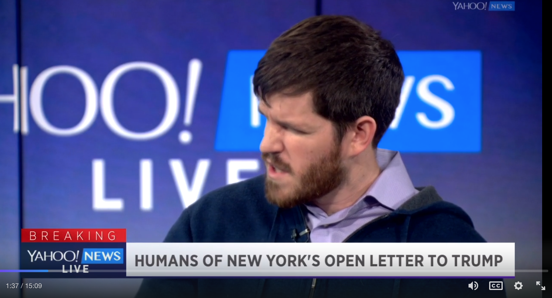 Open Letter To The Donald GOES VIRAL From Humans Of New York