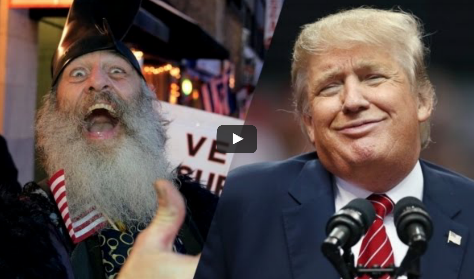 [Another HILARIOUS VIDEO] Vermin Supreme! He Paved The Way For Donald Trump And Here's How He Did It!
