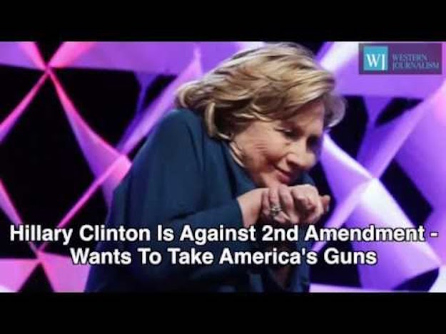 UH-OH! Hillary's 2A Agenda EXPOSED With This Leaked Audio!