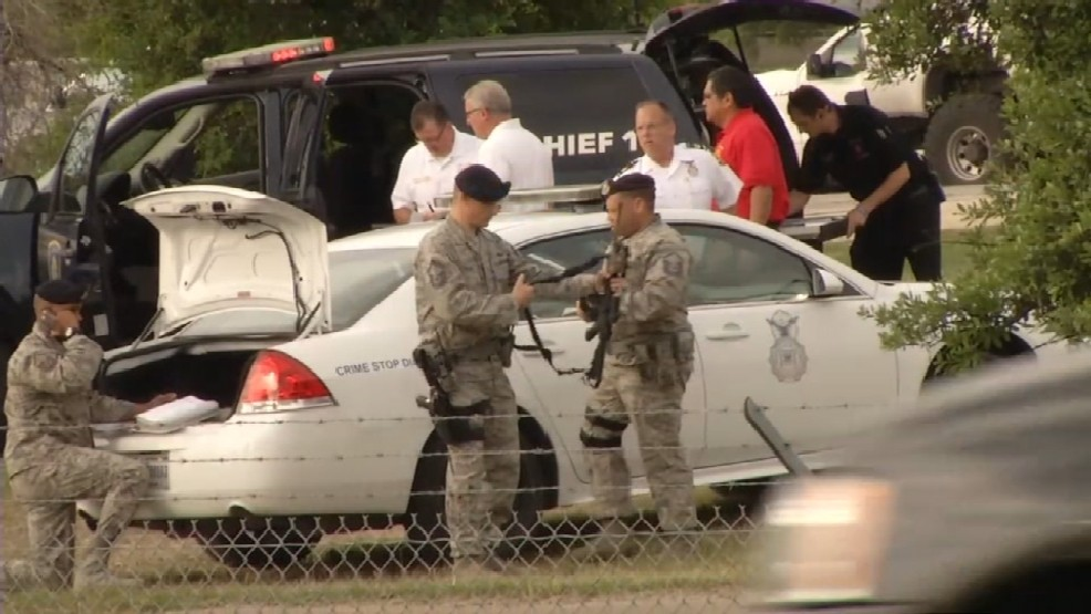 [BREAKING] At least 2 dead in shooting at Lackland Air Force Base in Texas
