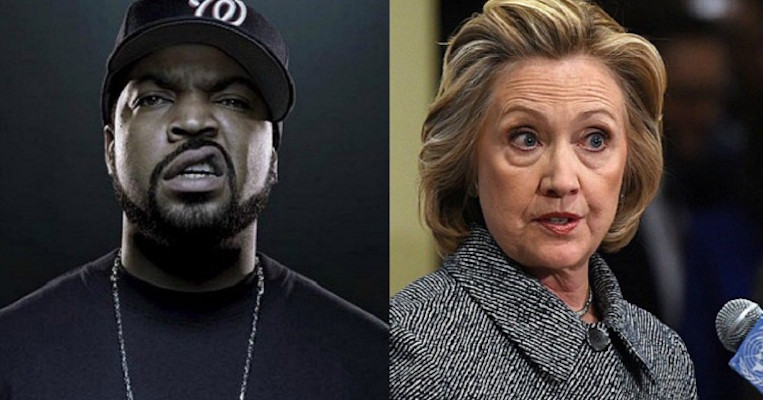 Hard, Cold TRUTH About What Hillary Has Done To Blacks From Rapper, Ice Cube