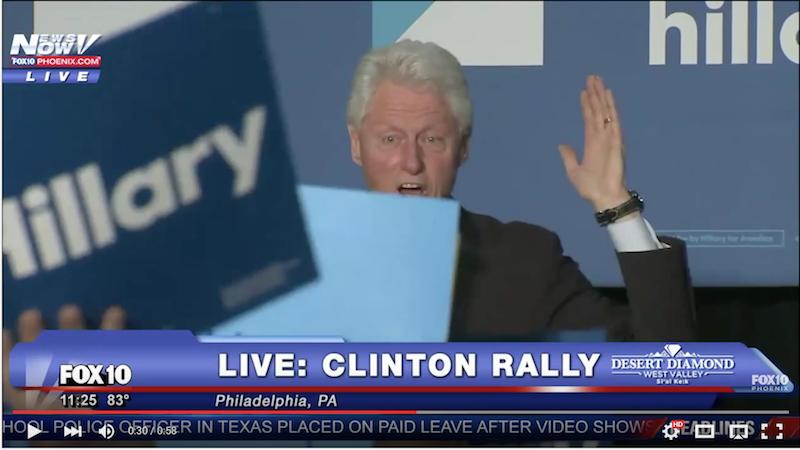 [MUST WATCH VIDEO] Bill Clinton Blasts Black Lives Matter!