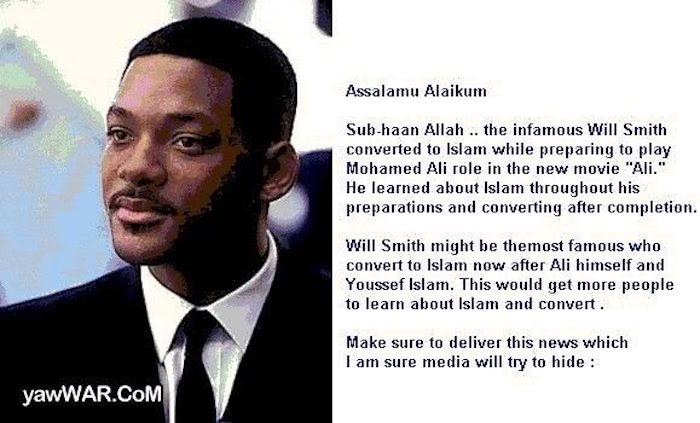 Will Smith Donates $150,000 To Terrorist Organization: The Nation Of Islam