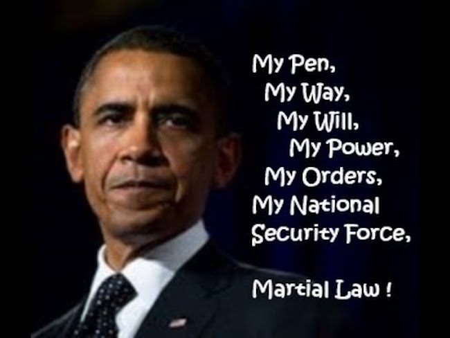 Obama Signs Another EXECUTIVE ORDER That Could Allow For A Third Term/Martial Law