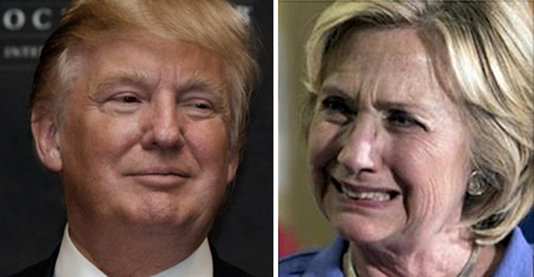 Trump Beating Hillary, Even After Slogging Through Large Primary Field