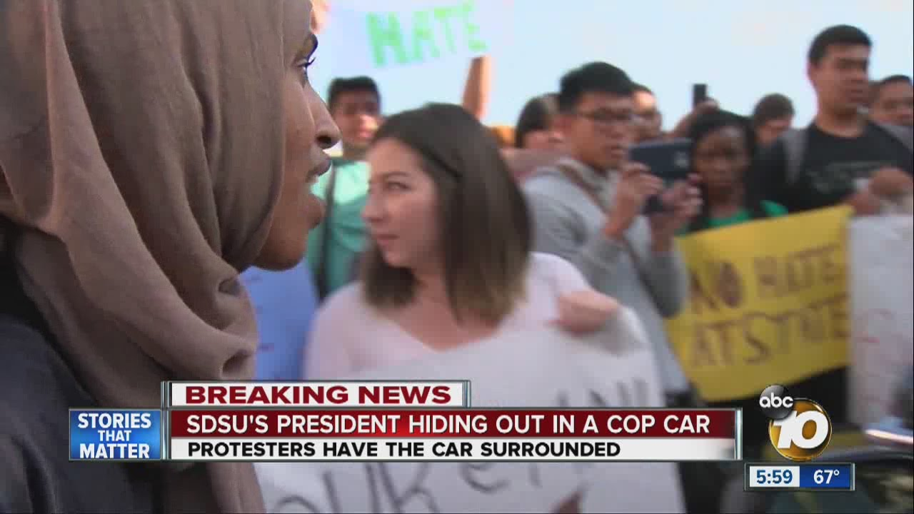 [Video] Students Protest Terrorist Label By Committing an Act of Terrorism