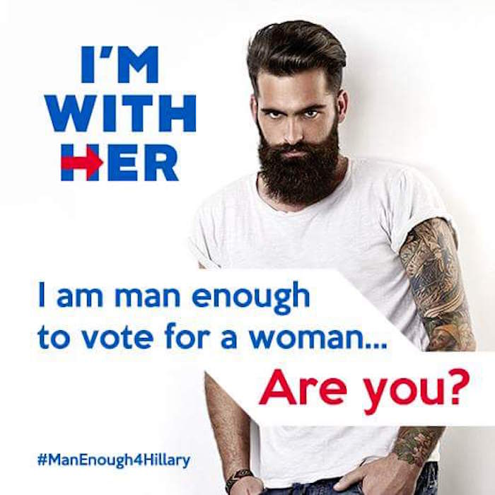 #ManEnoughForHillary Ad Connects Her With VENEREAL DISEASE!