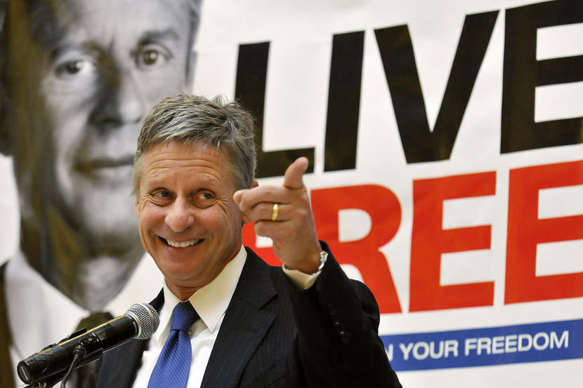 Libertarian Gary Johnson: I Agree With Sanders 73% of the Time