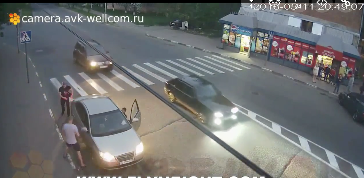 [VIDEO] Road Rage Man Shot Multiple Times But That Doesn't Stop Him