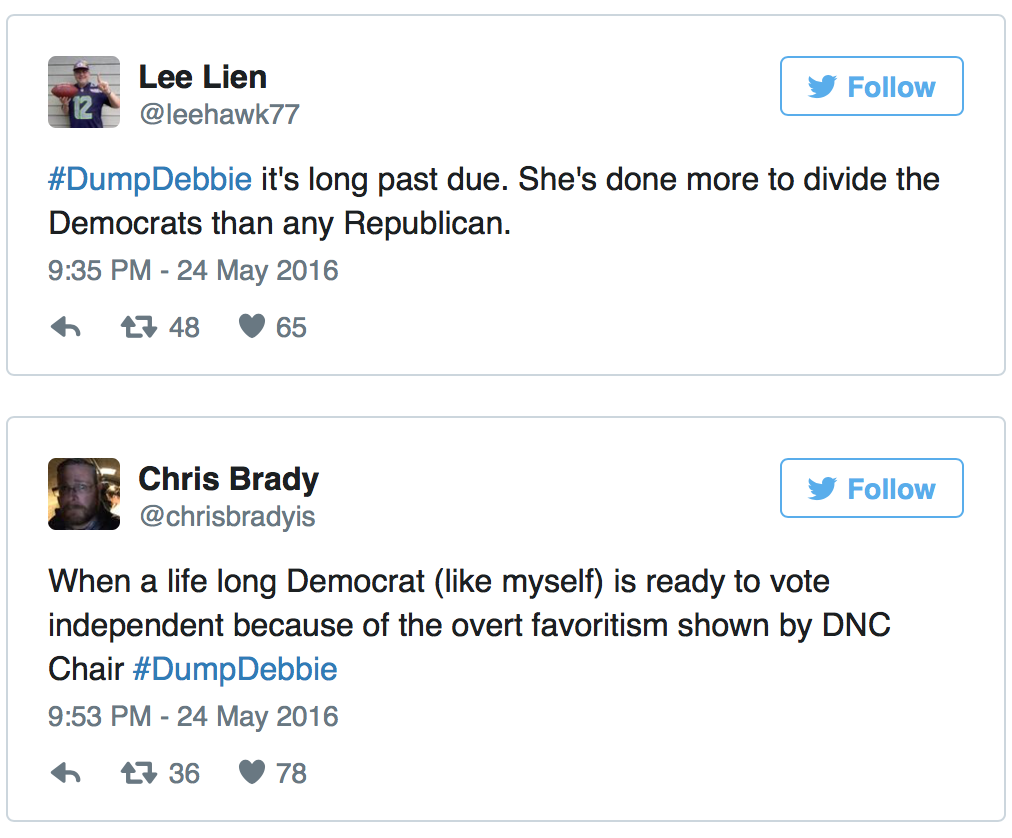 Is Delusional Debbie Getting Dumped By The DNC?