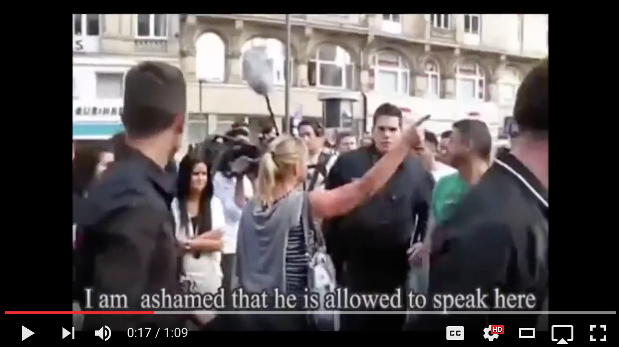 [WATCH] What Happens As One Courageous German Girl Stands Up To IMMIGRANTS In Frankfurt, Germany
