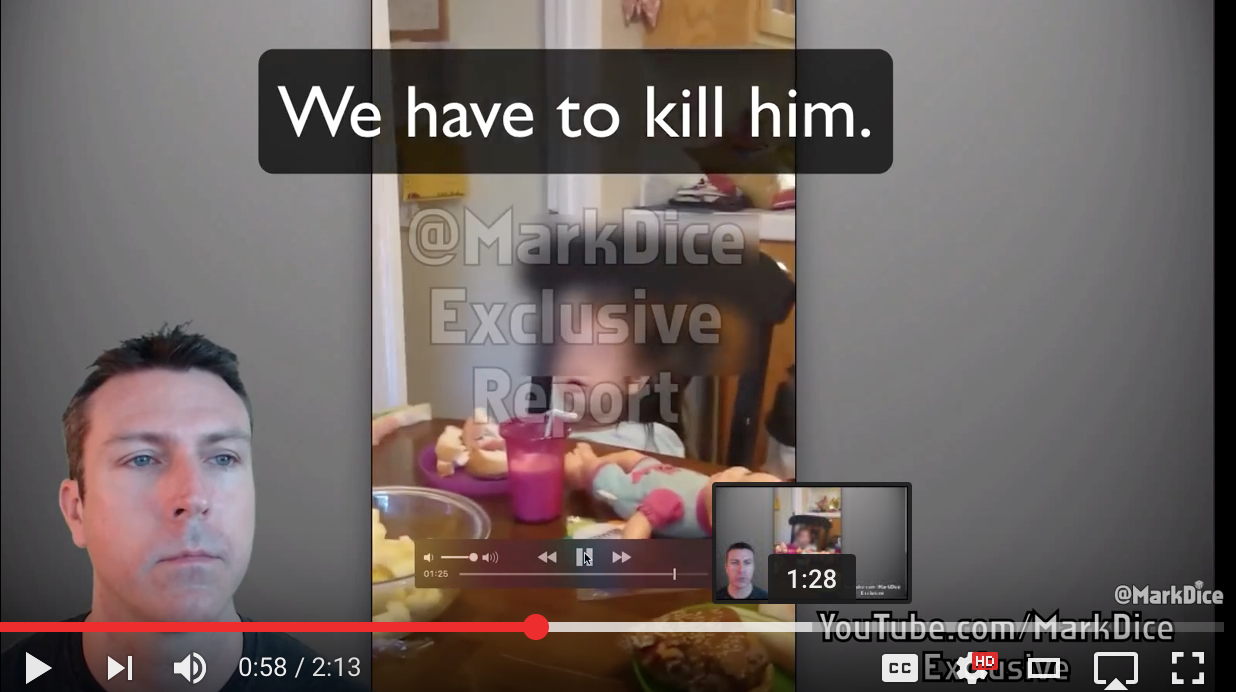 [DISGUSTING VIDEO] Parents Encourage 3yo To Kill Donald Trump