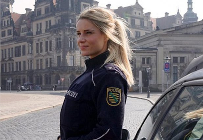 Really Hot Female Cop's PHOTOS Could Cost Her, Her Job