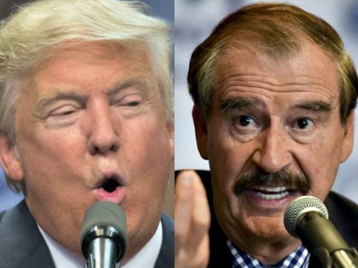 """LISTEN As Vicente Fox Threatens War With U.S. If """"RACIST GINGO"""" Trump Is Elected"""
