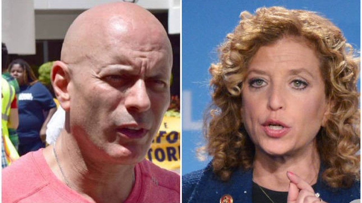 Delusional Debbie Wassermann Schultz Under Fire AND A Facing Primary Challenge