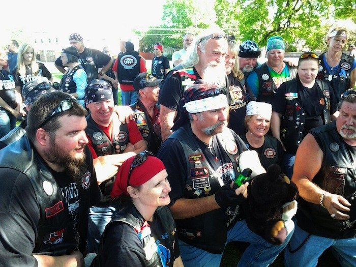 Watch Tough, B.A.C.A., Bikers Show Their Softer Side As They Protect Kids From Child Abuse