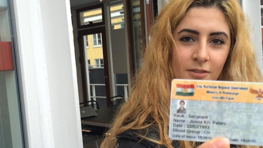 Danish Girl Delays College For One Year In Order to Kill ISIS Terrorists
