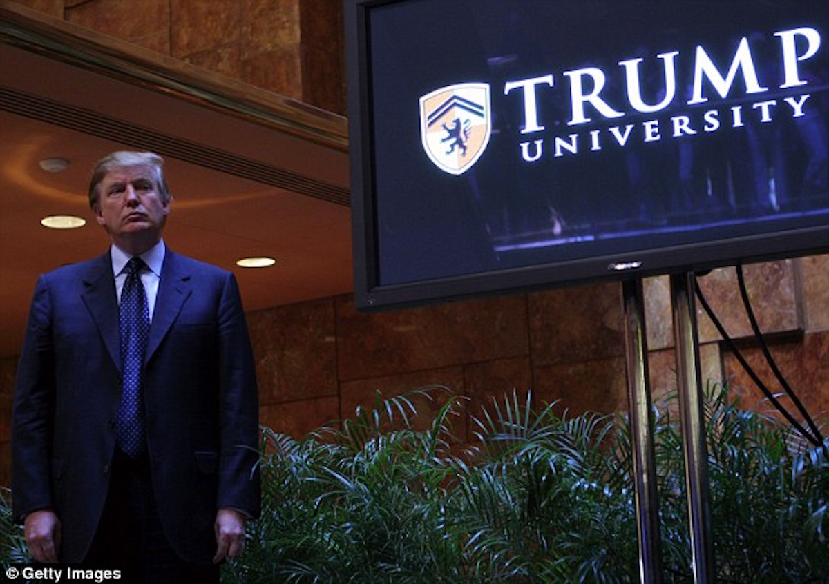 Hillary Stirs Up More Than Dust In Trump University Case