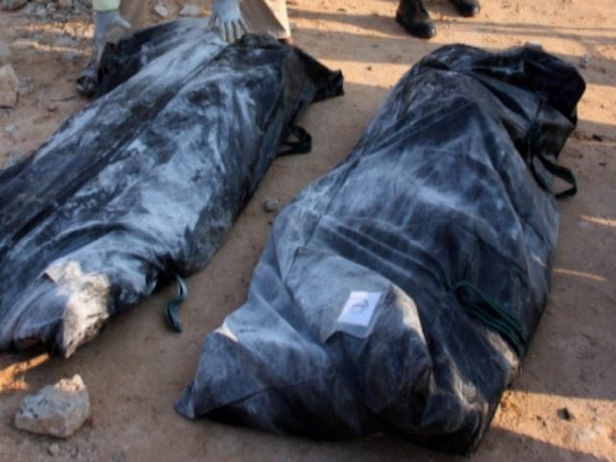 [WARNING: VERY GRAPHIC PHOTOS] Hacked Corpses Found Near the Border