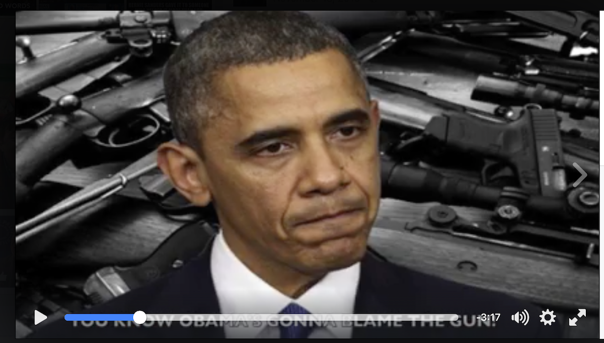 """His """"Gun Control Song"""" for Obama Has Over 8 Million Views – Barack is PISSED!"""