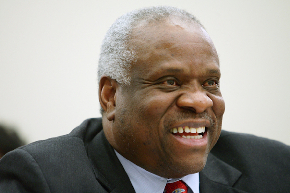 What Could Clarence Thomas Announce That Would Make Liberal Heads Explode?