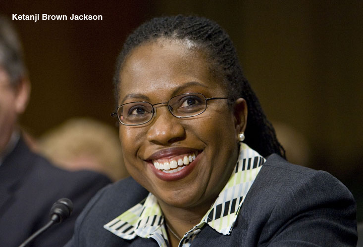 Ketanji Brown Jackson, during her confirmation hearing before the Senate Judiciary Committee, to be United States District Judge for the District of Columbia.  December 12, 2012.  Photo by Diego M. Radzinschi/THE NATIONAL LAW JOURNAL.