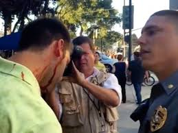 Illegal Aliens Try to  Intimidate Trump Supporters in California