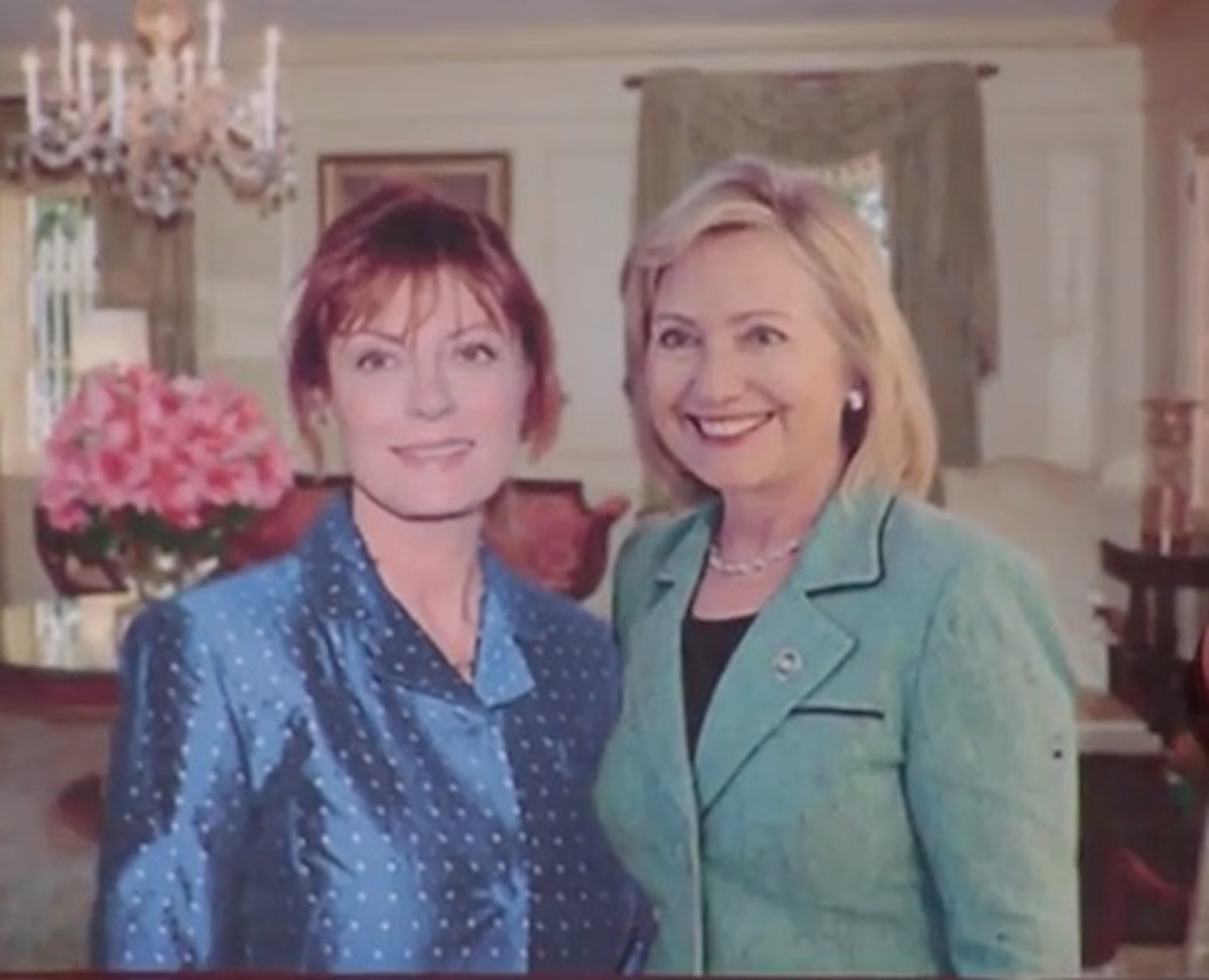 [VIDEO] Hollywood Lefty, Susan Sarandon, Thinks Hillary Will Be Indicted