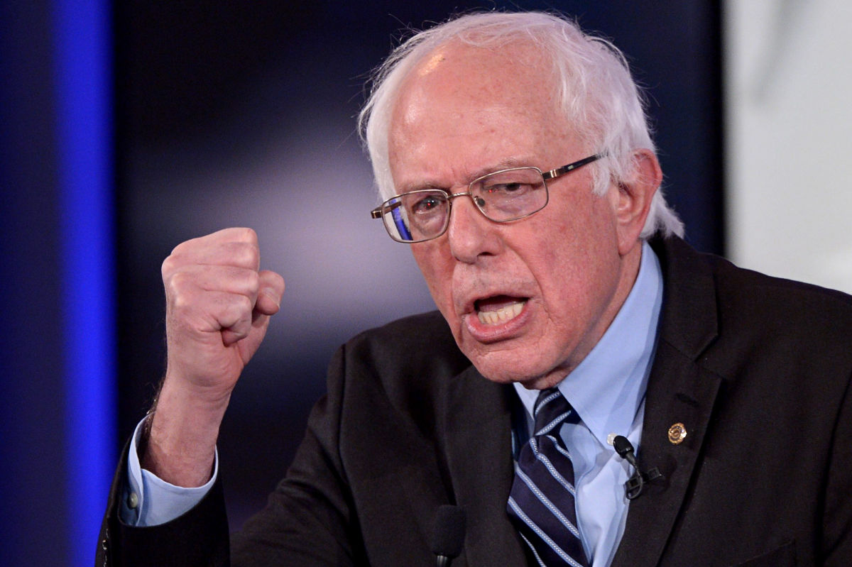 Bernie's Supporters Boo Him Loudly When He Said to Elect Hillary