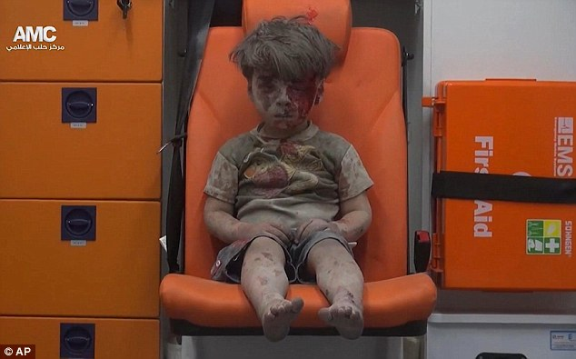 Heart-breaking Moment Shocks The World: Syrian Boy Sits In Ambulance After Deadly Airstrike