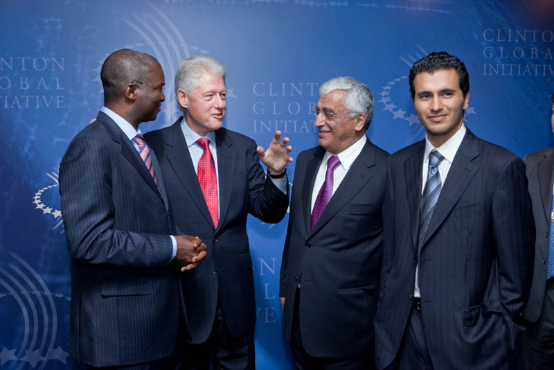 Clinton Global Initiative 2009 Photo Line
