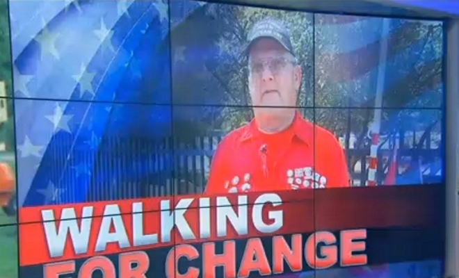 Veteran walks across the nation to bring awareness of VA abuses