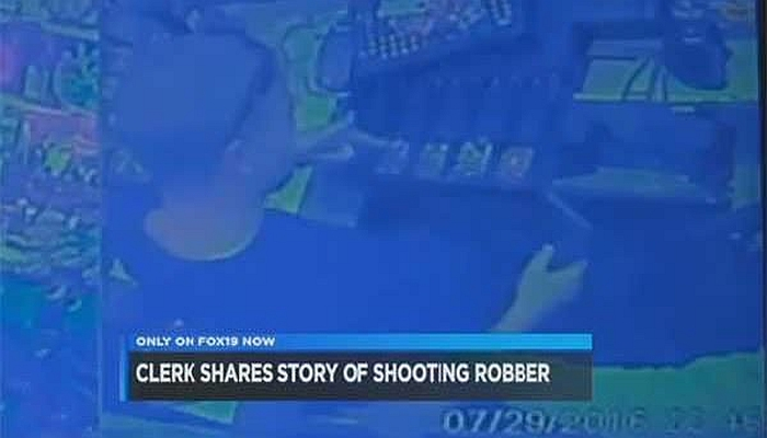 [VIDEO] Robbery Suspect Shot Dead By Store Clerk