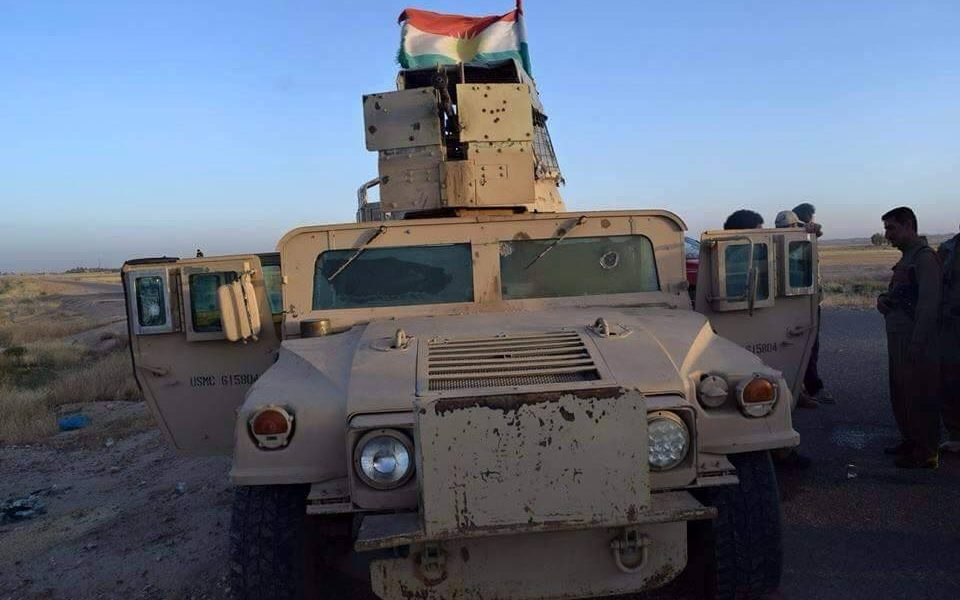ISIS Soldiers Horrified By What Kurds Have on Their Humvees [VIDEO]