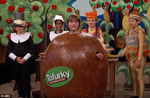 Jimmy Kimmel Presents A Liberal Utopian Thanksgiving