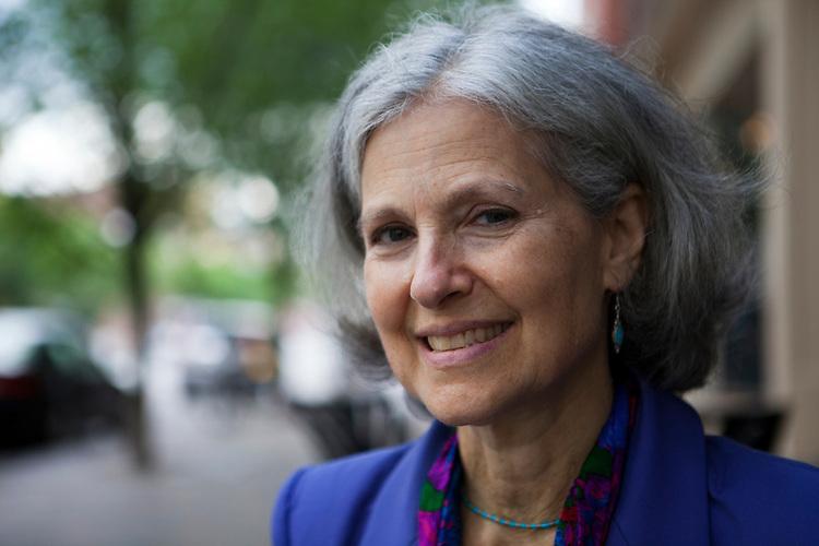 Green Party candidate Jill Stein in Roxbury, Massachusetts on July 5, 2012.