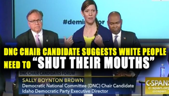 """The NEW Racism: DNC Leader Says """"Whites Should Be Trained to Shut Their Mouths"""""""