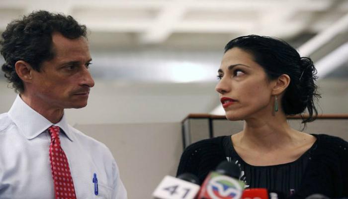 Shocking Update Given On Anthony Weiner And Huma Abedin