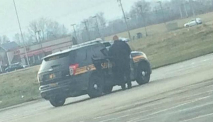 Cop Has Photo Taken Without His Knowledge, Notice Anything Odd? [PHOTO]