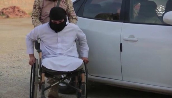 No Terrorist Left Behind: ISIS Turning Disabled Fighters Into Rolling IEDs [VIDEO]