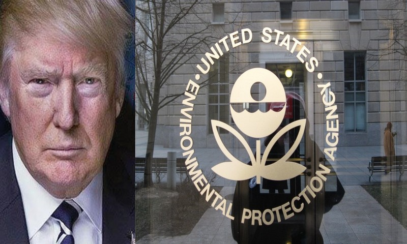 America First Trump orders EPA to remove job killing climate change web page