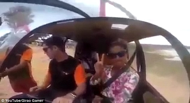 Woman Records the Helicopter She's Riding in as It Crashes [VIDEO]